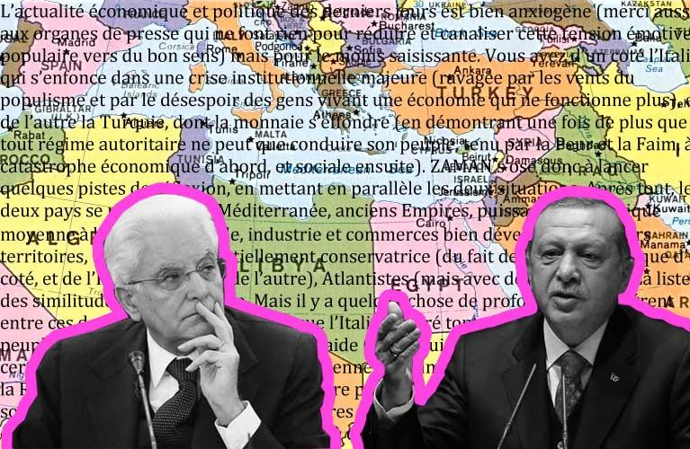 N°2 – Italy & Turkey